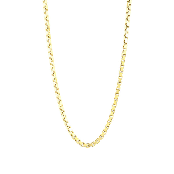 Rectangle Tick Necklace