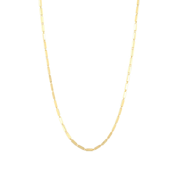 Rectangle Medium Tick Necklace