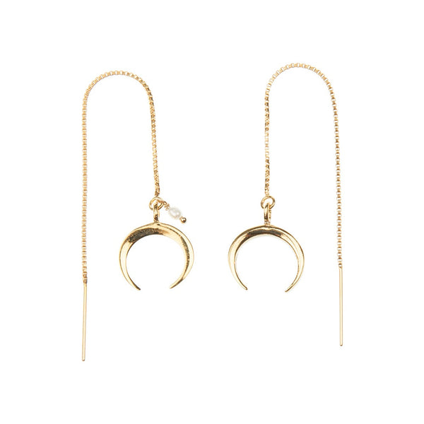 Horn Threaders Earrings
