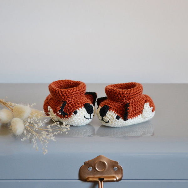 My Little Fox Baby Shoes
