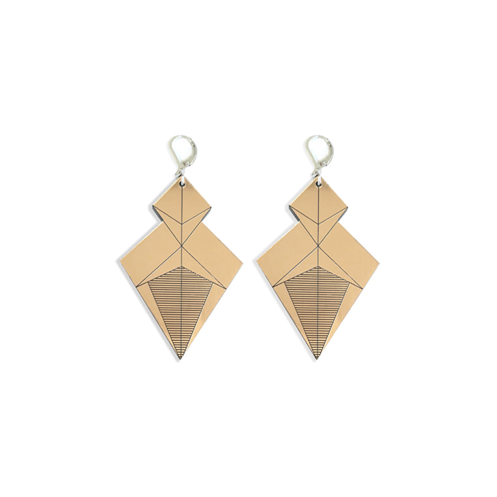 Samouraï Earrings