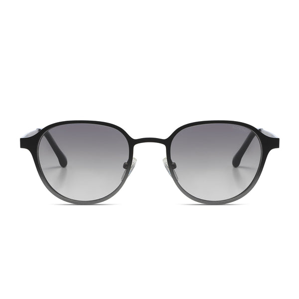 Levi Black Silver Gradient Sunglasses