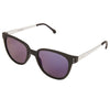 Renee Metal Black Silver Sunglasses