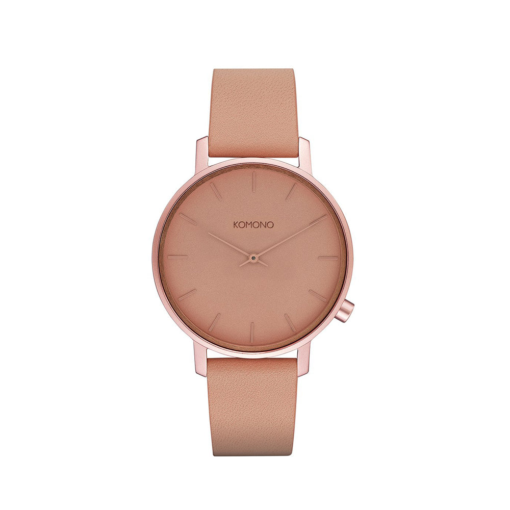 The Harlow Monochrome Blush Watch