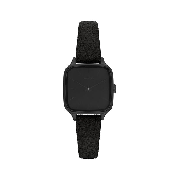Kate Black Suede Watch