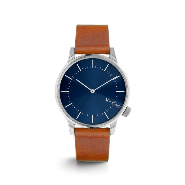 Winston Regal Blue Cognac Watch