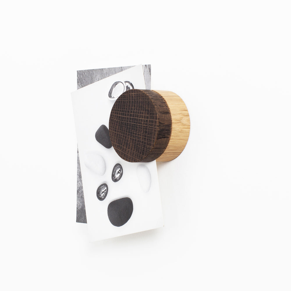 Wooden Magnet Brown