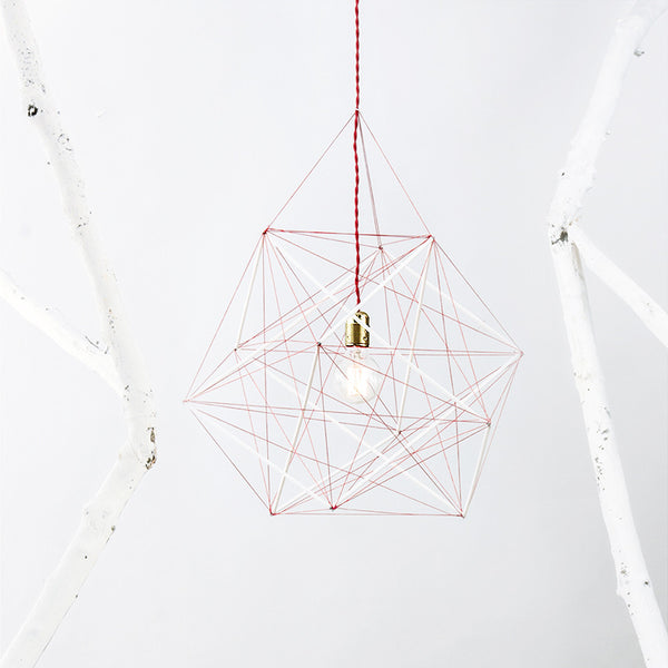 XYZ Golden Rectangles Tensegrity Ceiling Lamp