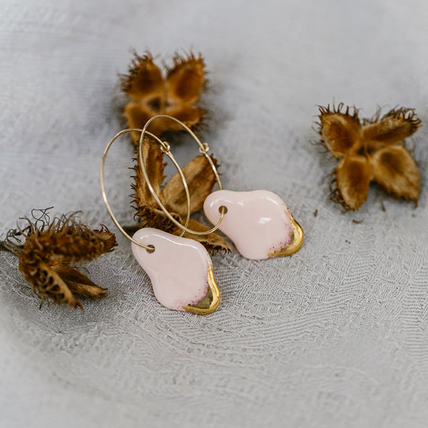 Nix Porcelain Earrings