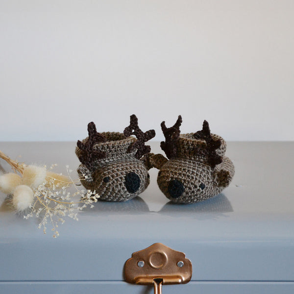 My Little Deer Baby Shoes
