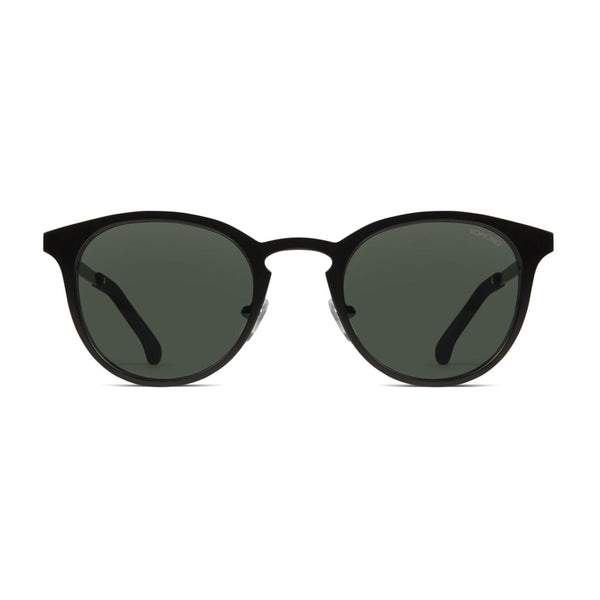 Hollis Black Matte Sunglasses