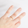 Thin Open Brass Ring
