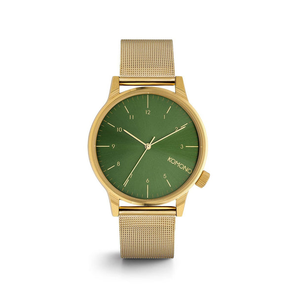 Winston Royale Gold Green Watch