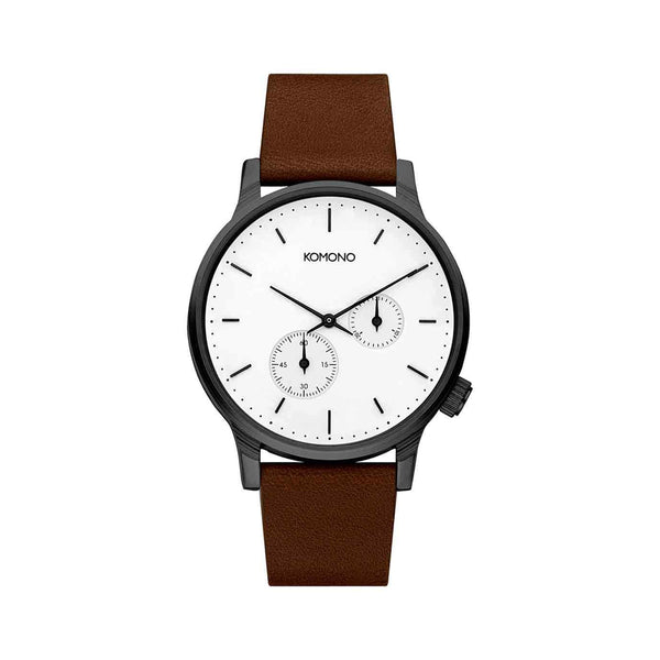 Winston Double Subs White Watch