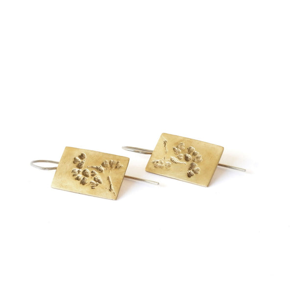 Plaquettes Earrings