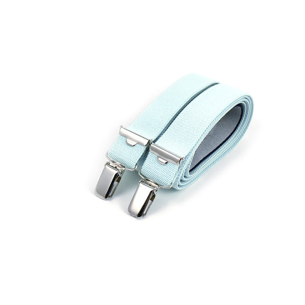 Thin Suspenders Teal