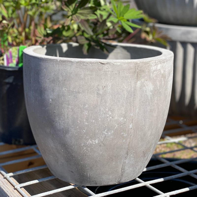 Fiber Concrete Tapered Pot