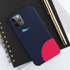 Navy Vibe Tough Case