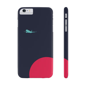 Navy Vibe Slim Case