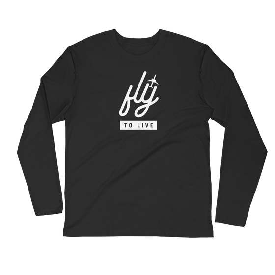 Fly to Live Long Sleeve