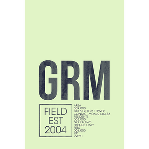 GRM | GUEST ROOM