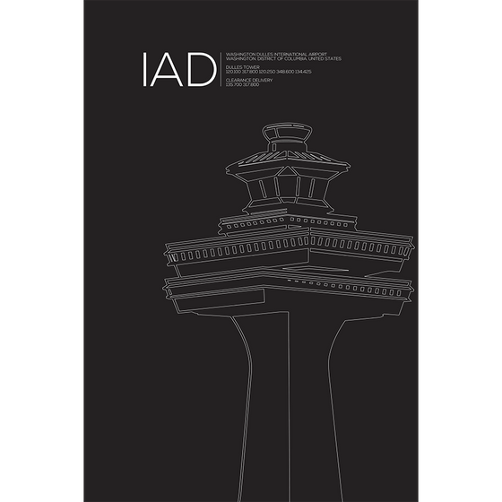 IAD | WASHINGTON DC TOWER Tower (Retired)