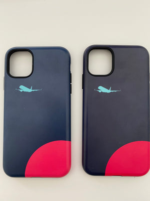 Navy Jet Slim Matte Phone Clearance