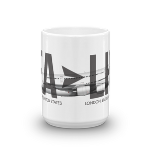 Custom Aircraft/Trip (No. 5) Mug