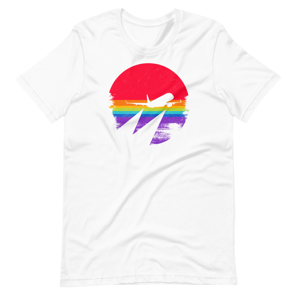 Rainbow Sunrise Tee