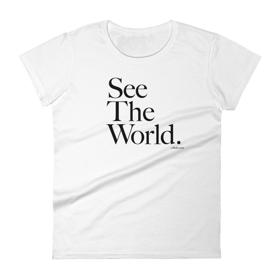 See The World Women's Tee