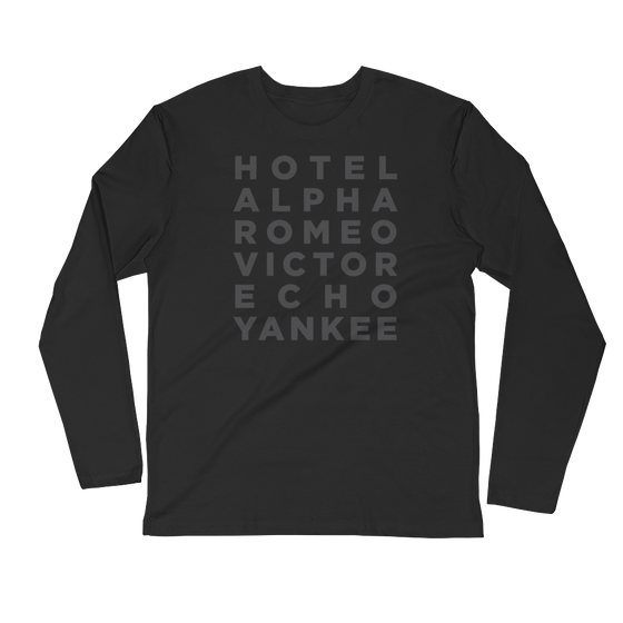 Your Name/Text Long Sleeve