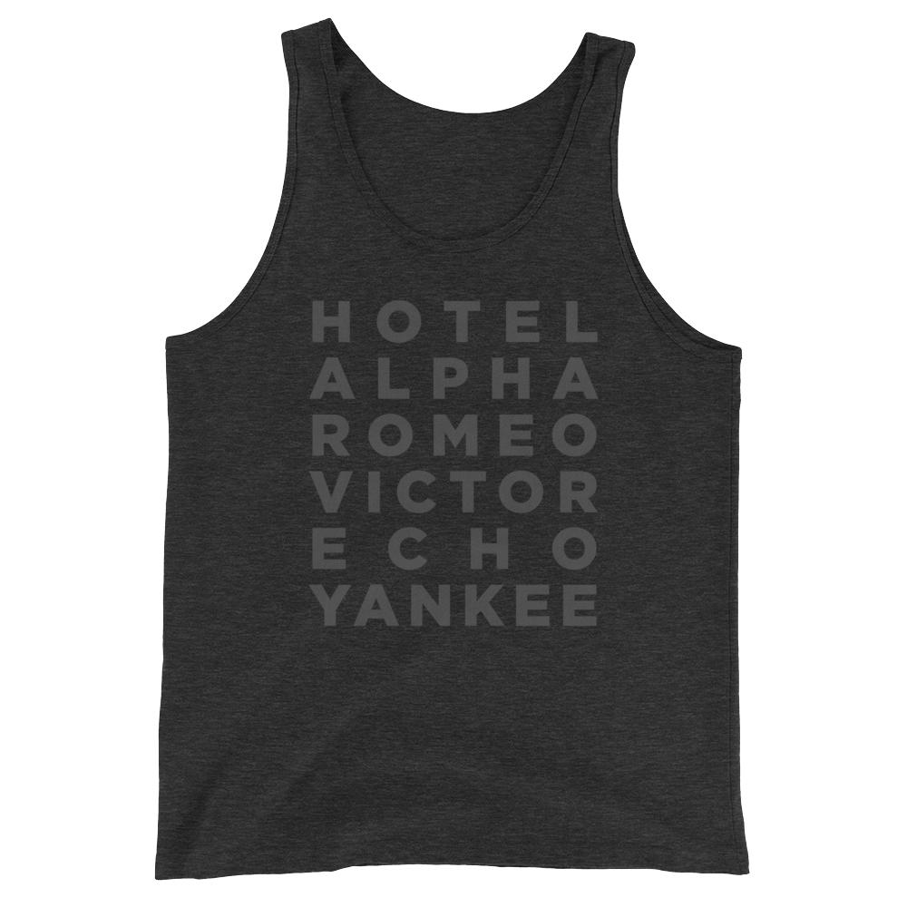 Custom Name/Text Tank