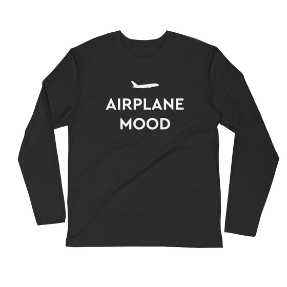 Airplane Mood Long Sleeve
