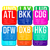 Custom Big and Bright ATC 12 Pack