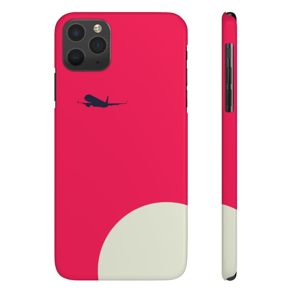 Red Vibe Slim Case