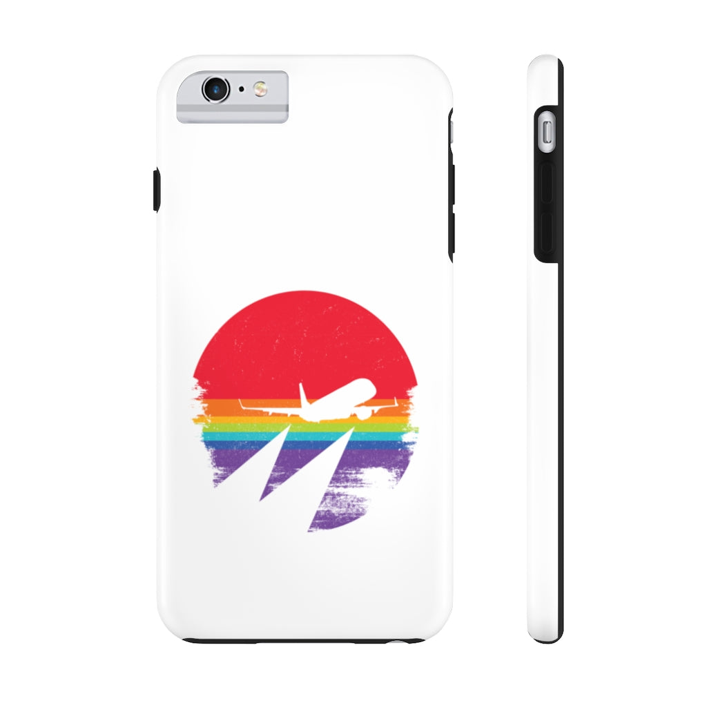 Rainbow Sunset Tough Case
