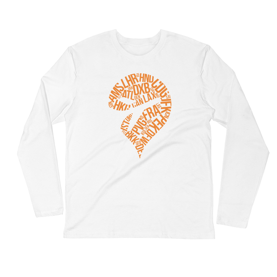 FSElite Orange Pin Longsleeve