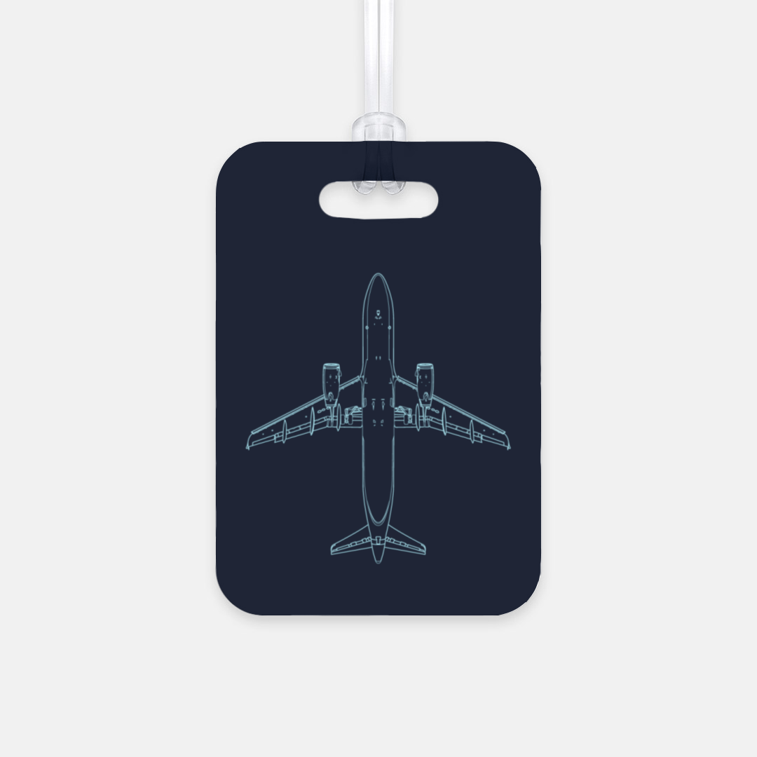 A320 Luggage Tag