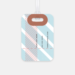 Retro 2 Luggage Tag