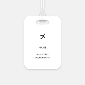 Triangle Luggage Tag
