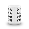 Your Name/Text Mug