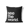 See the World Pillow
