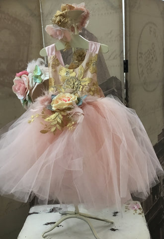 Flower girl tutu dress-Annabelle