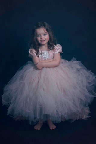 Flower girl tutu dress-Melany