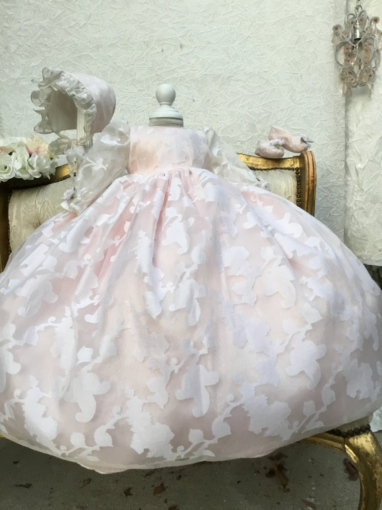 Christening Silk Gown - Eleanor