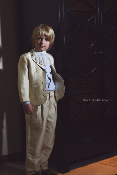 River-silk boy suit-ring barer-bridal-wedding-boy suit