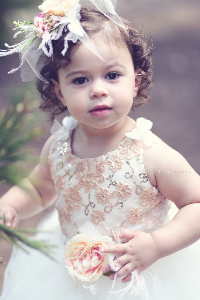 Tutu toddlers dress-Honey