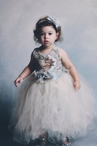 Mae-blue tutu dress-toddlers tutu-flower girl-wedding