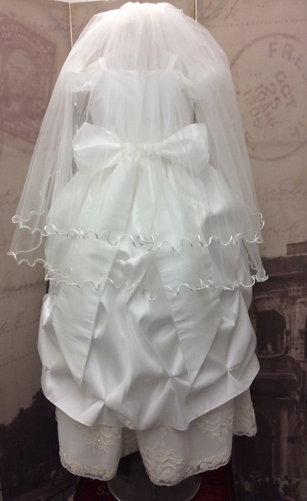 Communion dress-Victorian communion-flower girl-bridal-Paloma - ElenaCollection  - 5