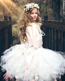 Tutu couture and lace corset-Photography-Flowergirl-bridal-Zoey - ElenaCollection  - 4